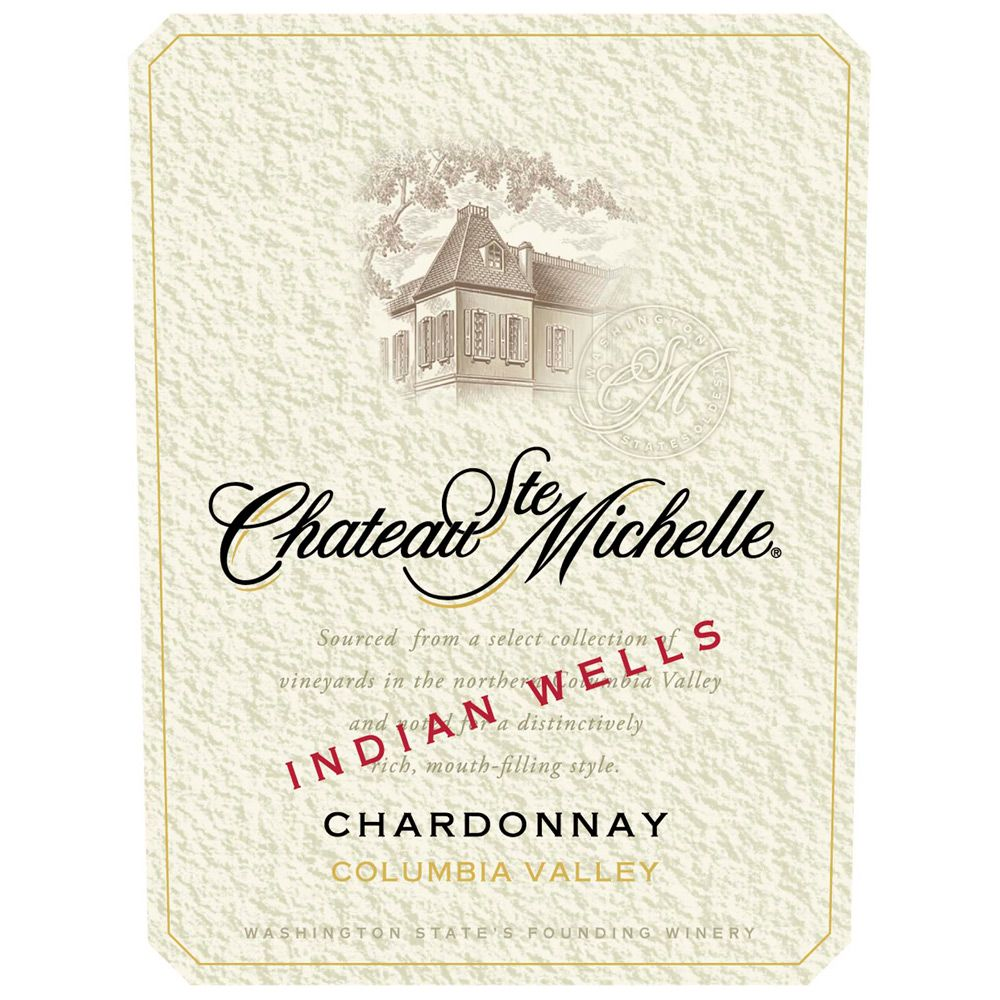 Chateau Ste. Michelle Indian Wells Vineyard Chardonnay 2011 Front Label