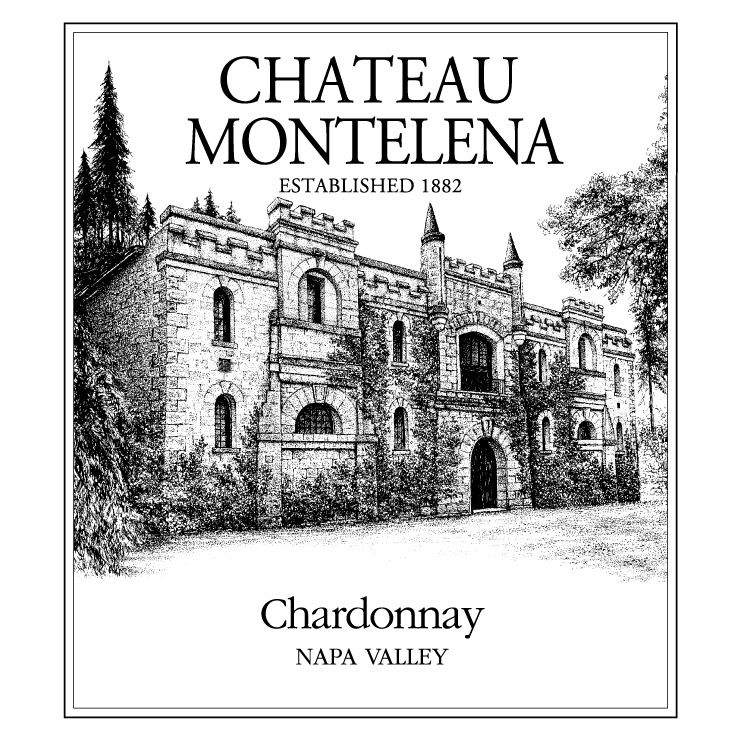 Chateau Montelena Napa Valley Chardonnay (375ML half-bottle) 2009 Front Label