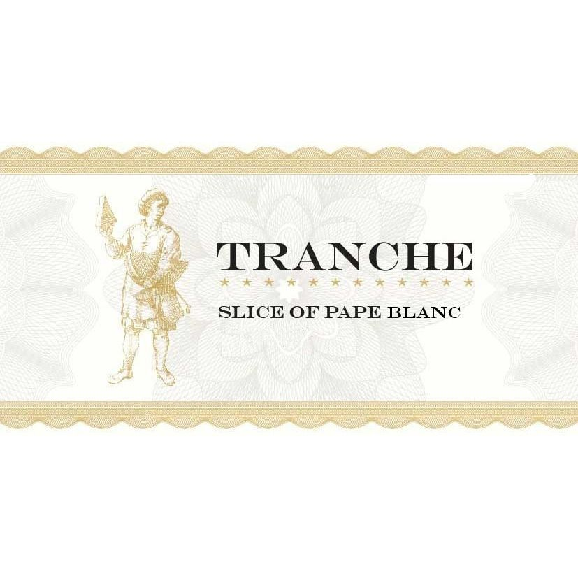 Tranche Cellars Slice of Pape Blanc 2009 Front Label