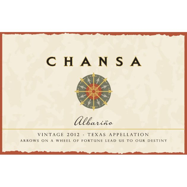McPherson Chansa Albarino 2012 Front Label