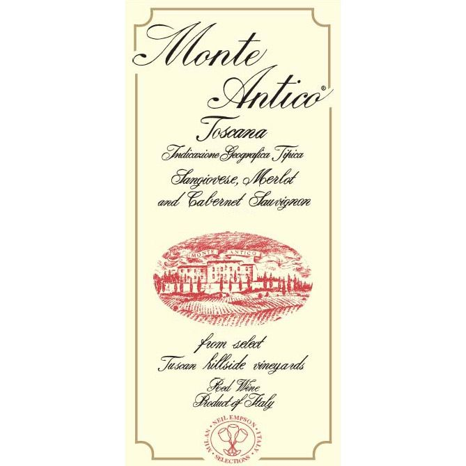 Monte Antico Rosso (3 Liter Bottle) 2007 Front Label