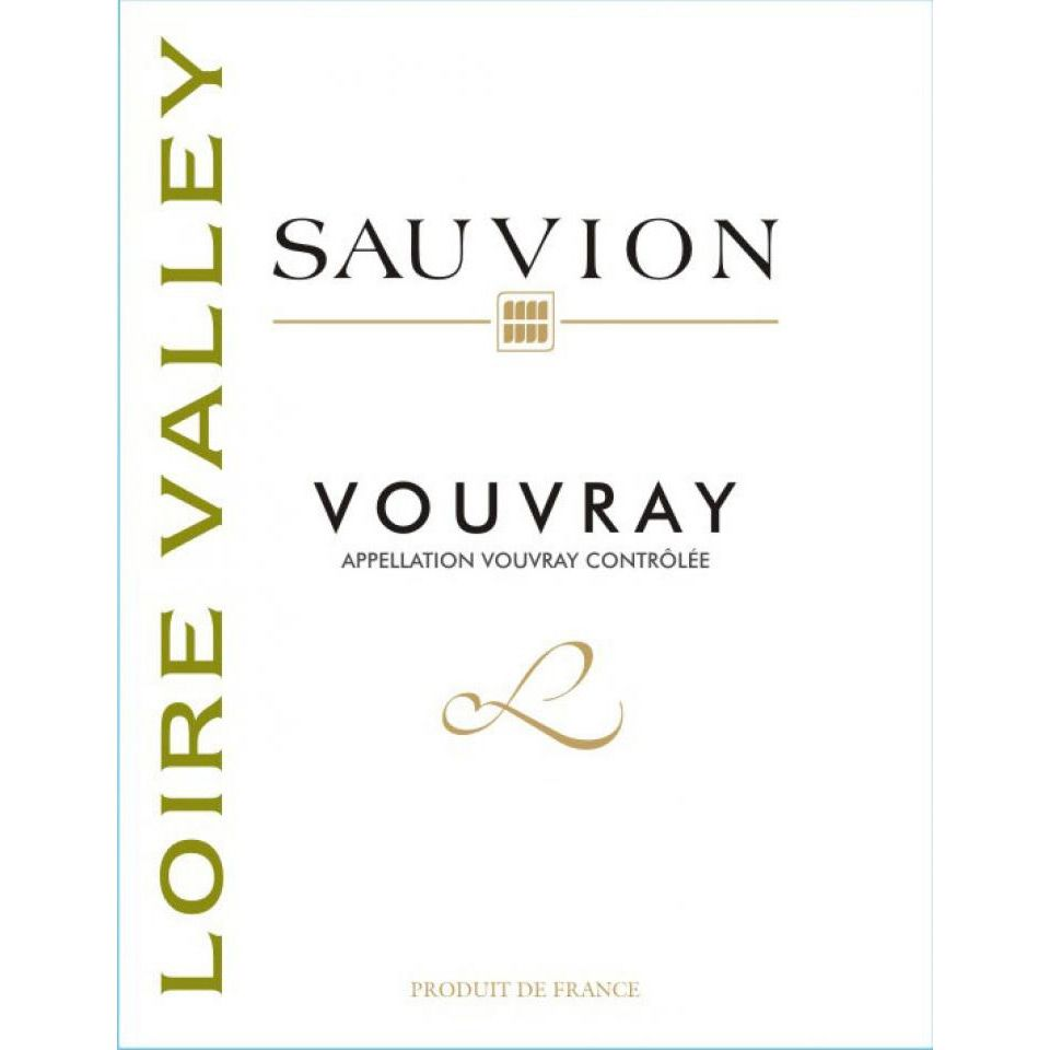 Sauvion Vouvray 2012 Front Label