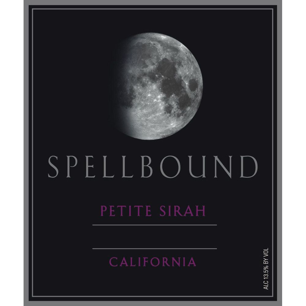 Spellbound Petite Sirah 2012 Front Label