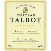 Chateau Talbot (1.5 Liter magnum) 1989 Front Label