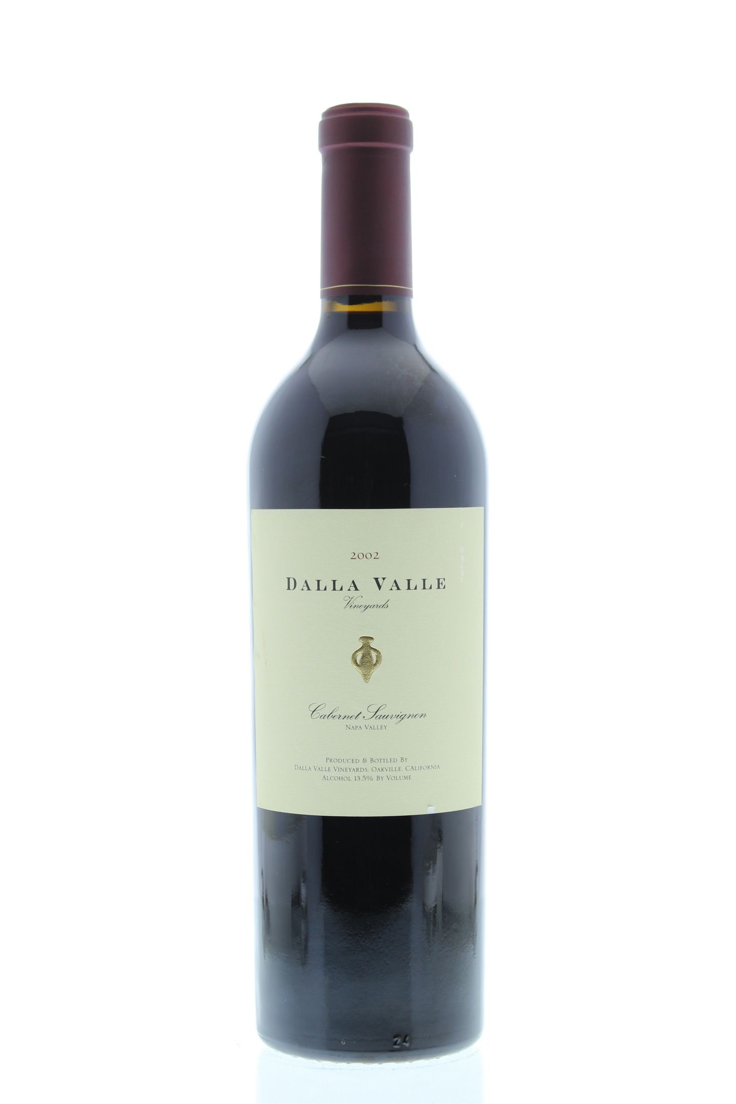 Dalla Valle Cabernet Sauvignon 2002 Front Bottle Shot
