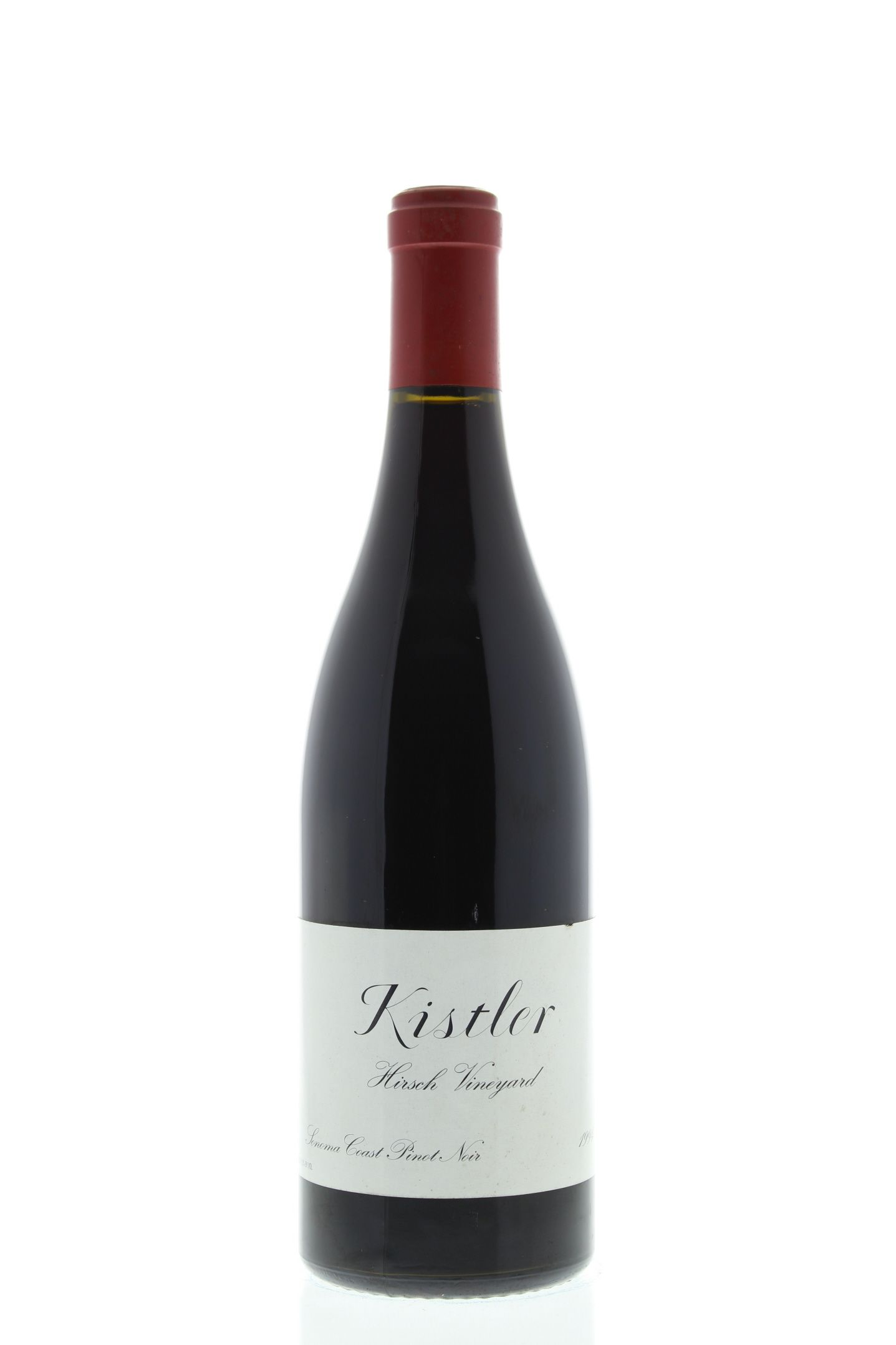 Kistler Vineyards Hirsch Vineyard Pinot Noir 1994 Front Bottle Shot