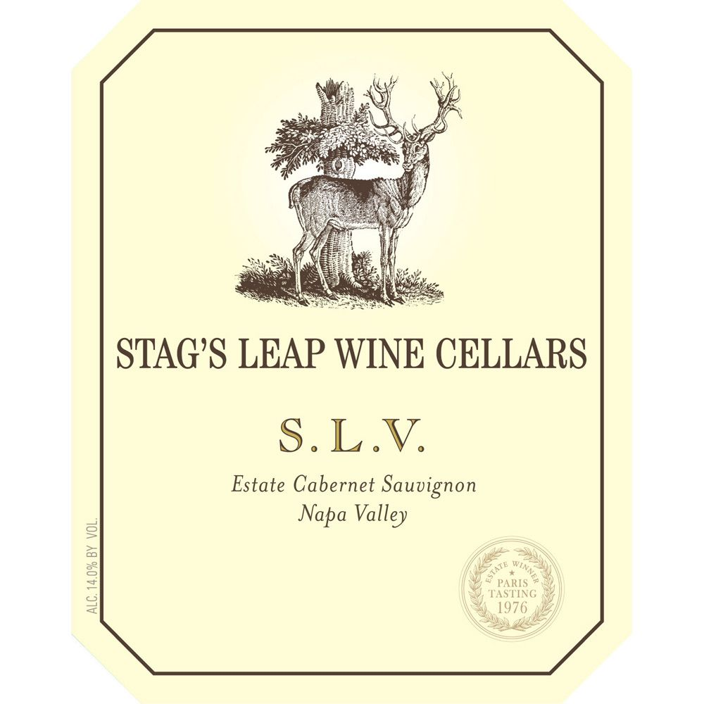 Stag's Leap Wine Cellars S.L.V. Cabernet Sauvignon (375ML half-bottle) 2009 Front Label