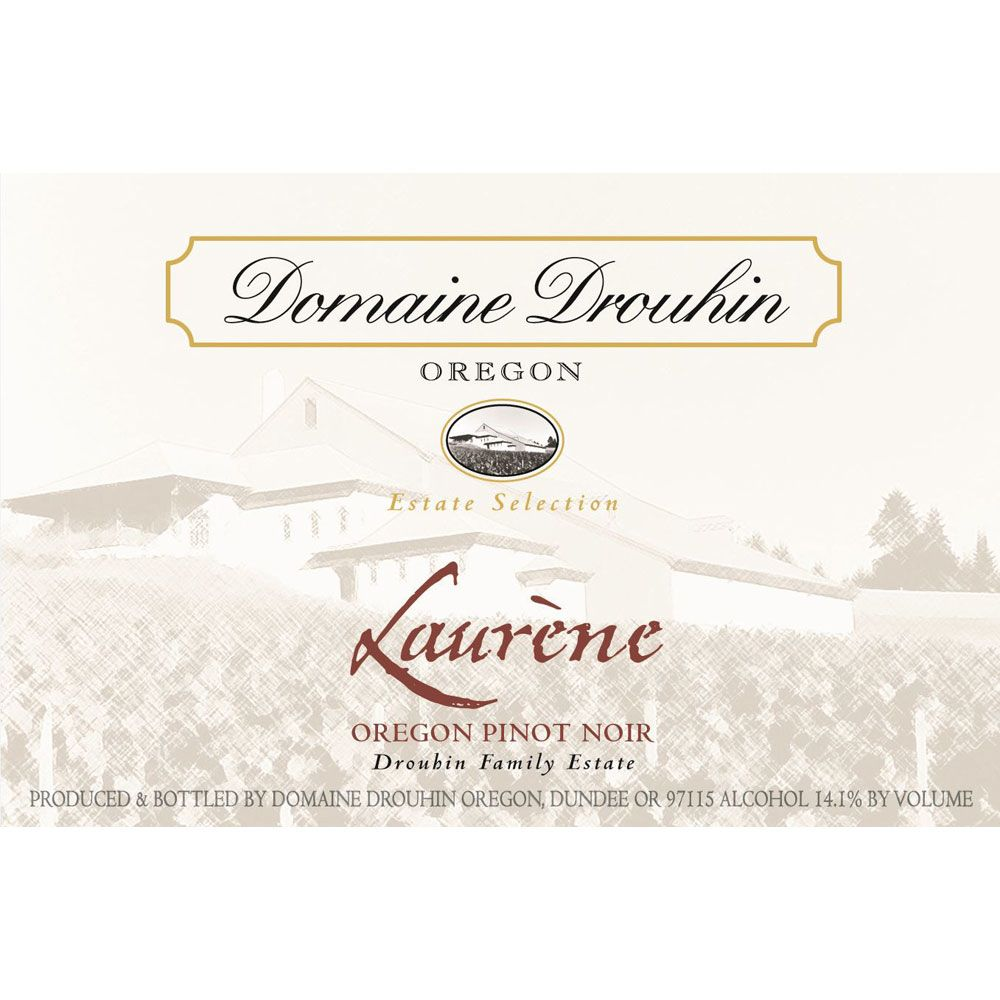 Domaine Drouhin Oregon Laurene Pinot Noir 2010 Front Label