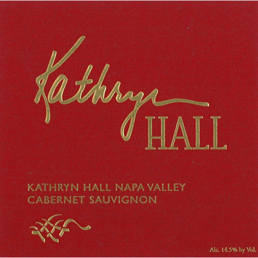 Hall Kathryn Hall Cabernet Sauvignon (375ML half-bottle) 2010 Front Label