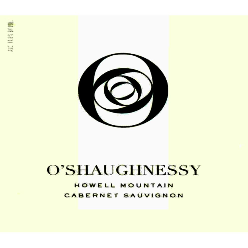 O'Shaughnessy Howell Mountain Cabernet Sauvignon 2010 Front Label