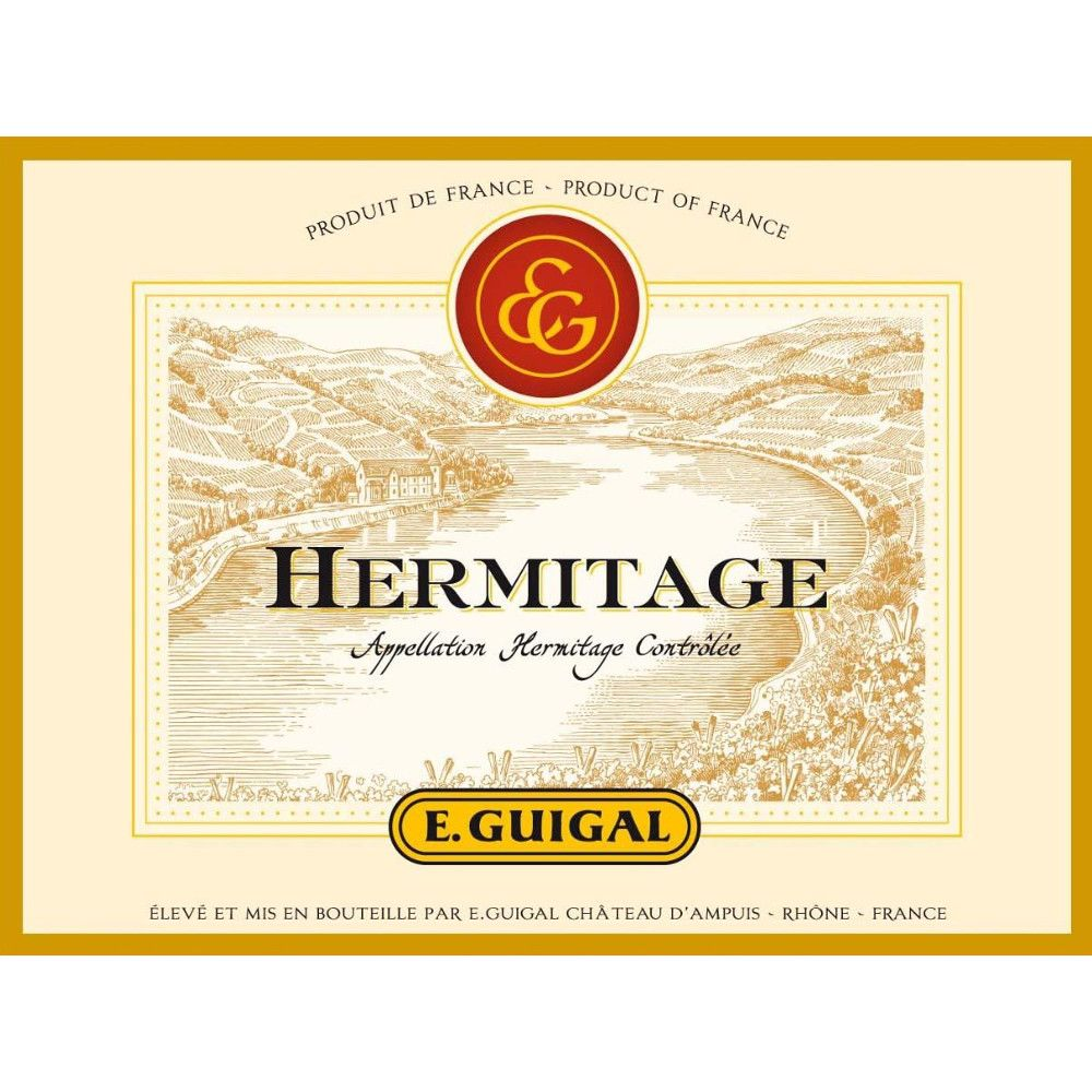 Guigal Hermitage Blanc 2007 Front Label