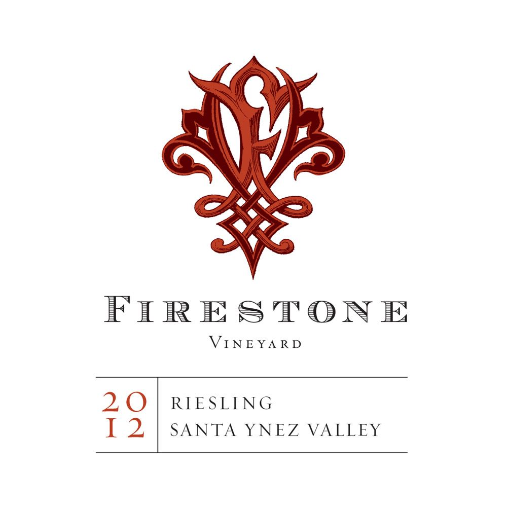 Firestone Riesling 2012 Front Label