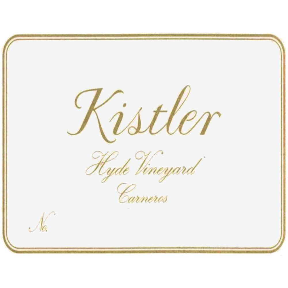 Kistler Vineyards Hyde Vineyard Chardonnay 2010 Front Label