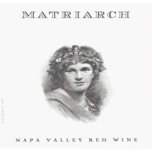 Bond Matriarch (slightly bin soiled label) 2009 Front Label