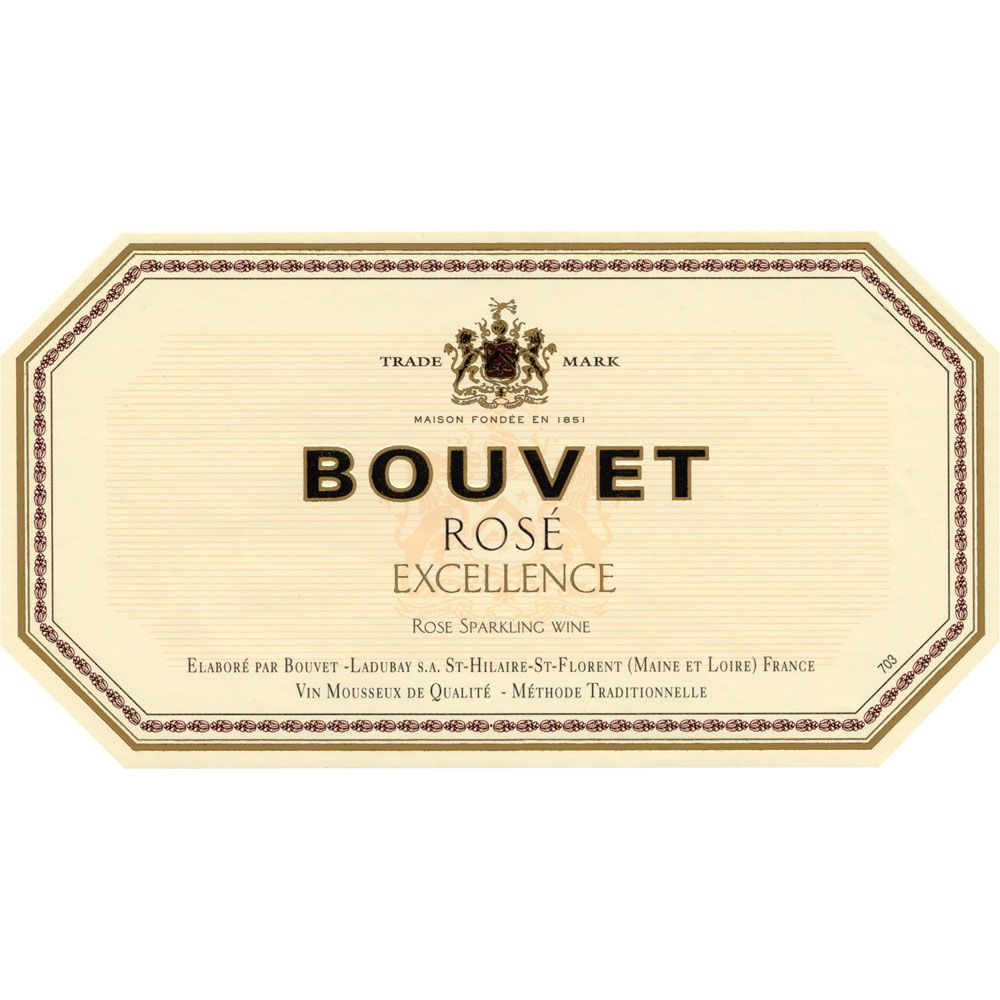 Bouvet Brut Rose Excellence Front Label