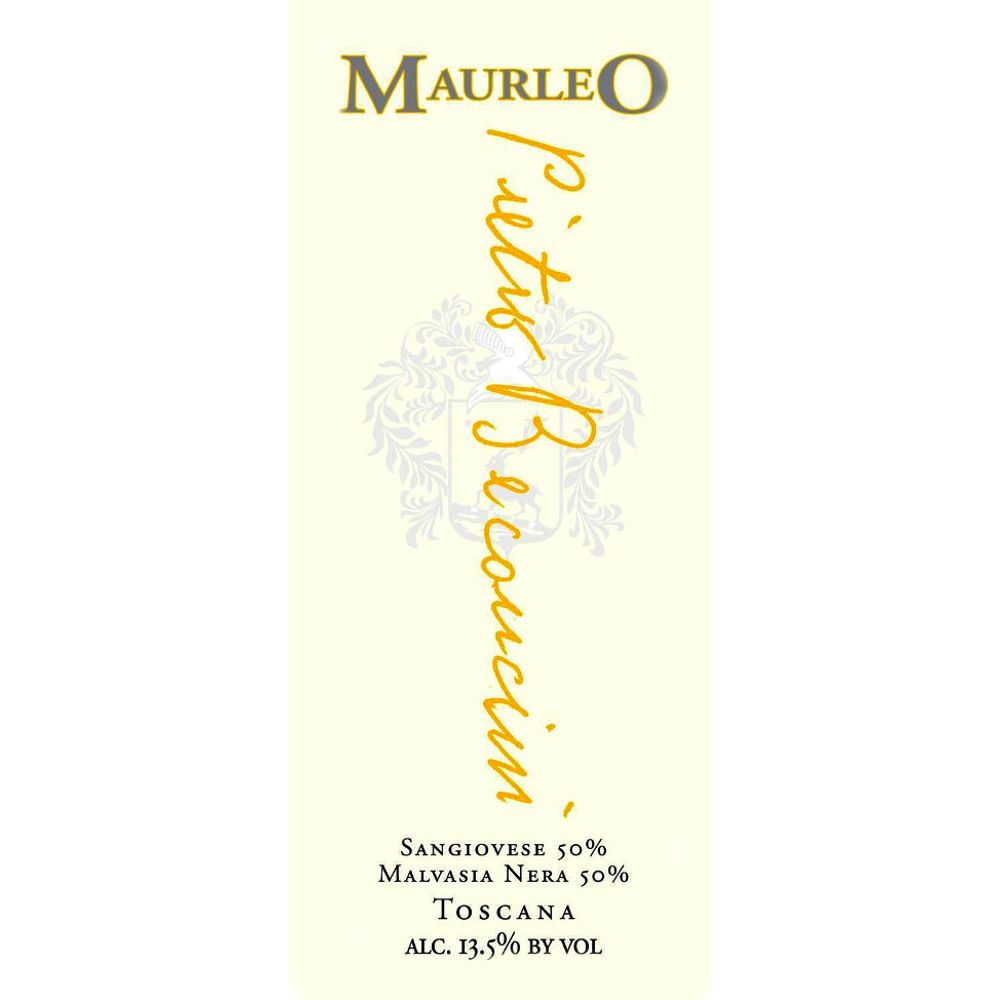 Pietro Beconcini Toscana Rosso Maurleo 2006 Front Label
