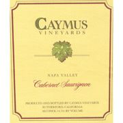 Caymus Napa Valley Cabernet Sauvignon (1.5 Liter Magnum - no label) 1986 Front Label
