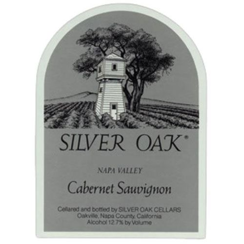Silver Oak Napa Valley Cabernet Sauvignon (torn labels) 1989 Front Label