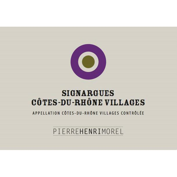 Pierre Henri Morel Cotes Du Rhone Villages Signargues 2011 Front Label