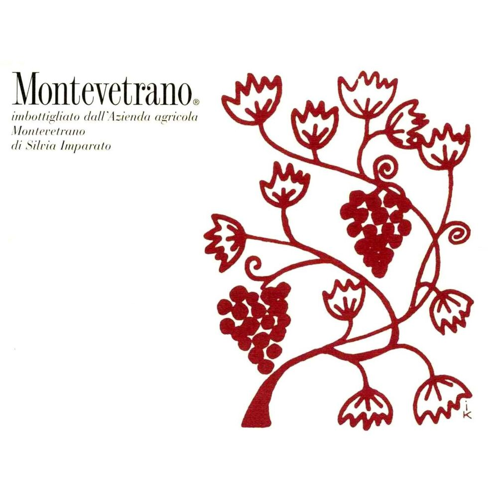 Montevetrano Colli di Salerno 2010 Front Label
