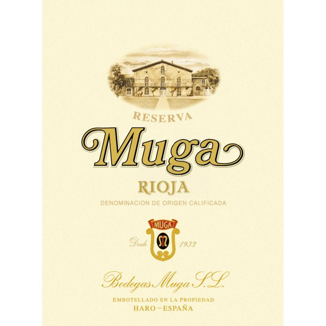 Bodegas Muga Reserva (375ML half-bottle) 2009 Front Label