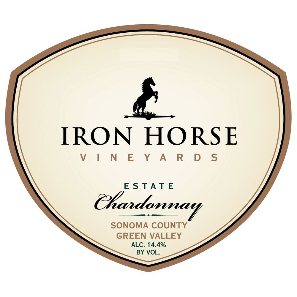 Iron Horse Estate Chardonnay 2012 Front Label