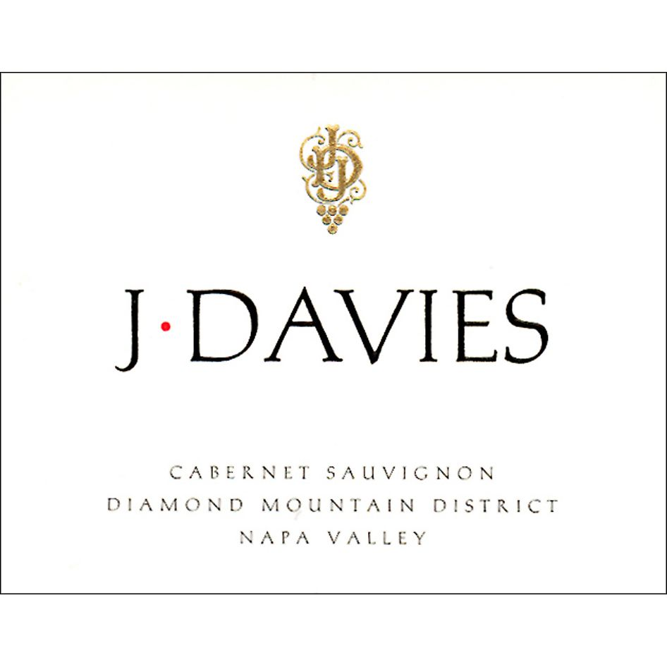 J. Davies Cabernet Sauvignon (stained label) 2010 Front Label