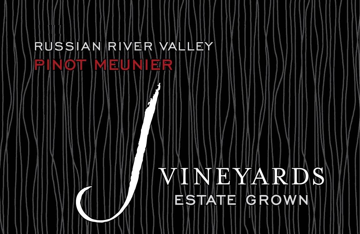 J Vineyards Pinot Meunier 2012 Front Label