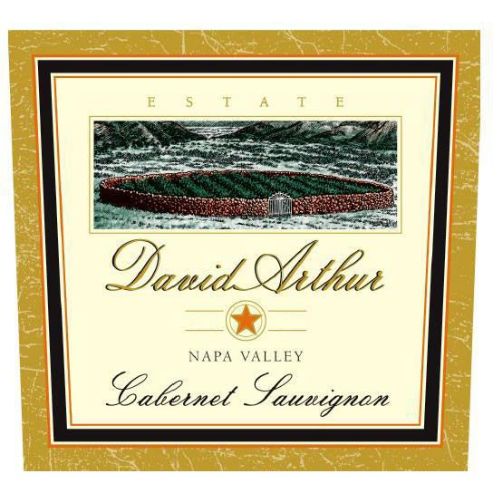 David Arthur Estate Cabernet Sauvignon 2003 Front Label