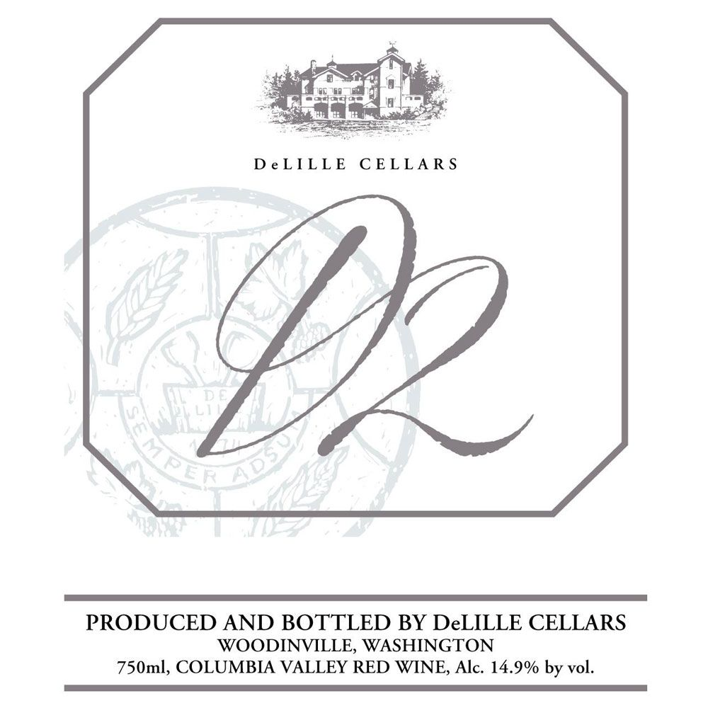 DeLille D2 Estate Red 2008 Front Label