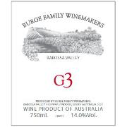 Burge Family G3 2002 Front Label