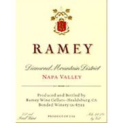 Ramey Diamond Mountain District Red 2002 Front Label