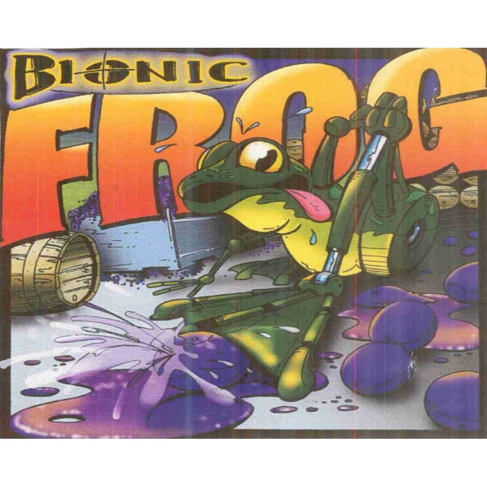 Cayuse Bionic Frog Syrah 2010 Front Label