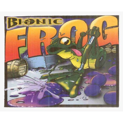Cayuse Bionic Frog Syrah 2011 Front Label