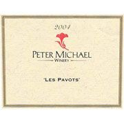 Peter Michael Les Pavots 2004 Front Label