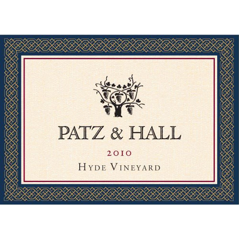 Patz & Hall Hyde Vineyard Pinot Noir 2010 Front Label