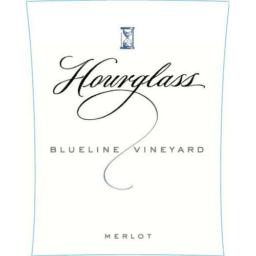 Hourglass Blueline Vineyard Merlot 2010 Front Label