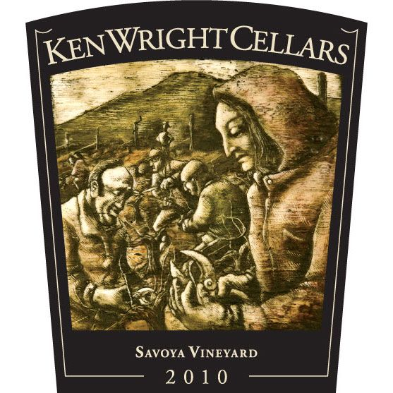 Ken Wright Cellars Savoya Vineyard Pinot Noir 2010 Front Label