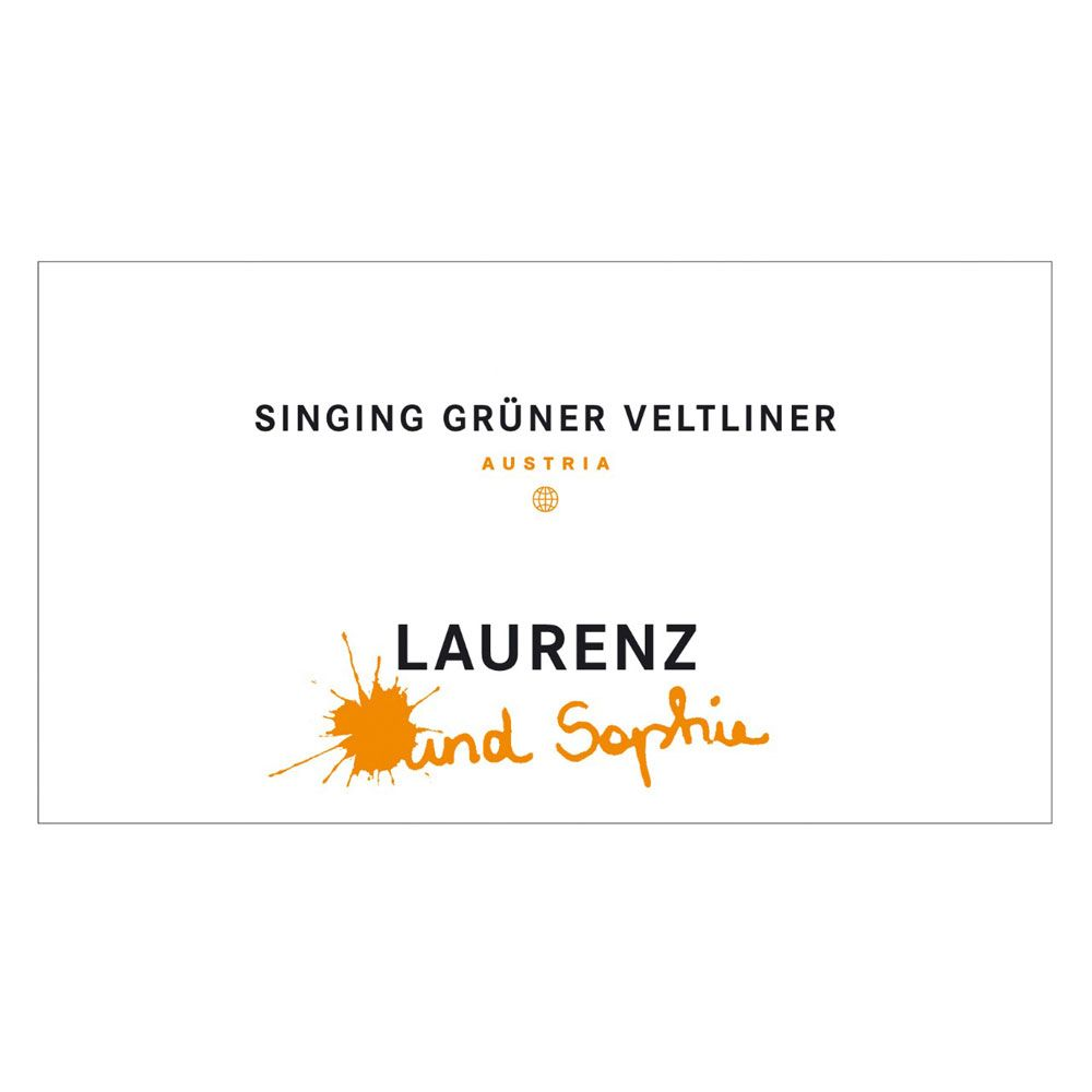Laurenz V Singing Gruner Veltliner 2012 Front Label