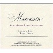 Marcassin Blue Slide Ridge Pinot Noir 2009 Front Label