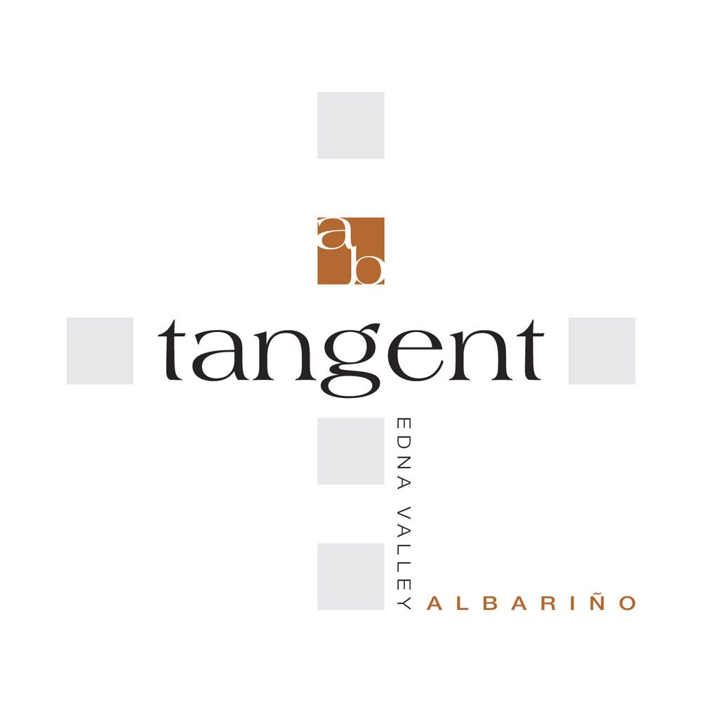 Tangent Edna Valley Albarino 2012 Front Label
