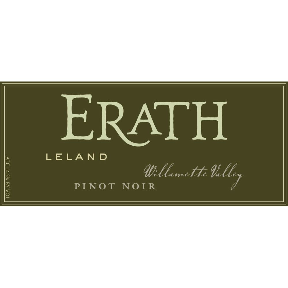 Erath Leland Vineyard Pinot Noir 2010 Front Label