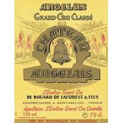 Chateau Angelus (375ML half-bottle) 2004 Front Label