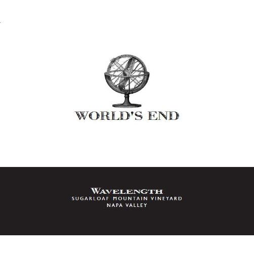 World's End Wavelength 2010 Front Label
