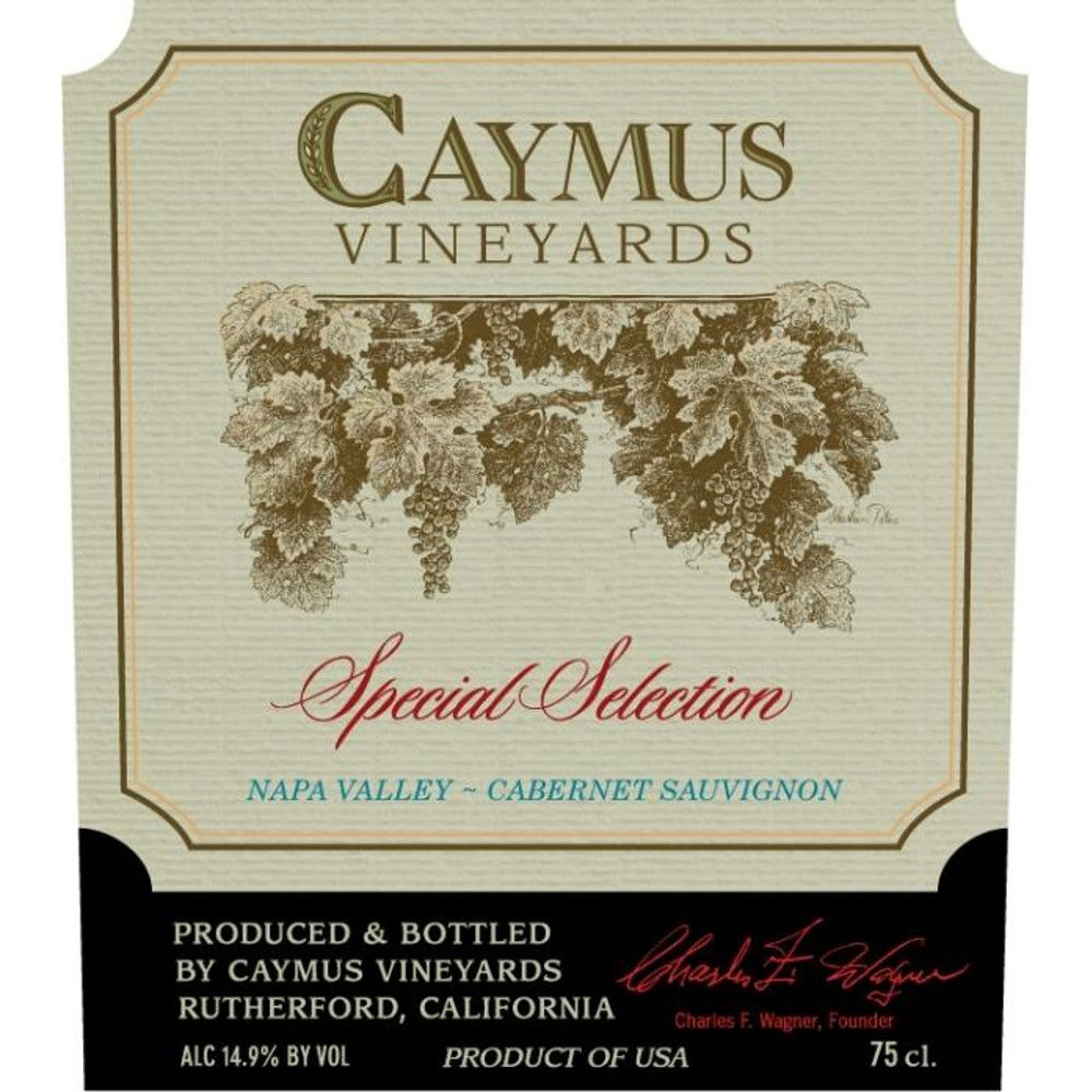 Caymus Special Selection Cabernet Sauvignon (1.5 Liter Magnum) 2011 Front Label