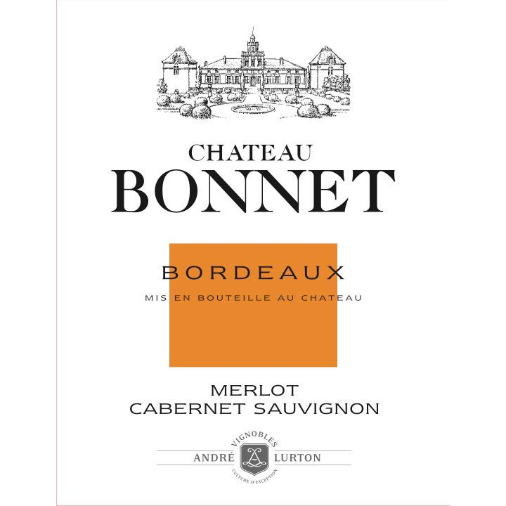 Chateau Bonnet Rouge 2010 Front Label
