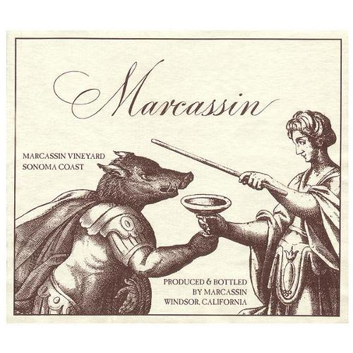 Marcassin Blue Slide Ridge Pinot Noir 2001 Front Label