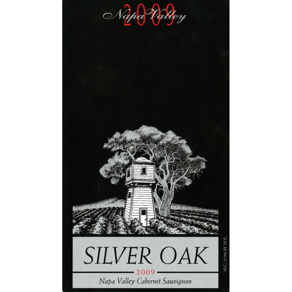 Silver Oak Napa Valley Cabernet Sauvignon 2009 Front Label