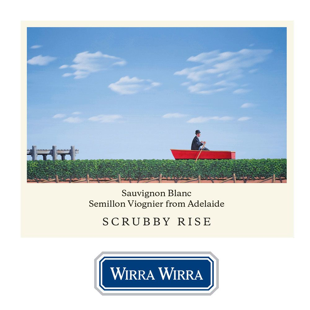 Wirra Wirra Scrubby Rise White 2012 Front Label
