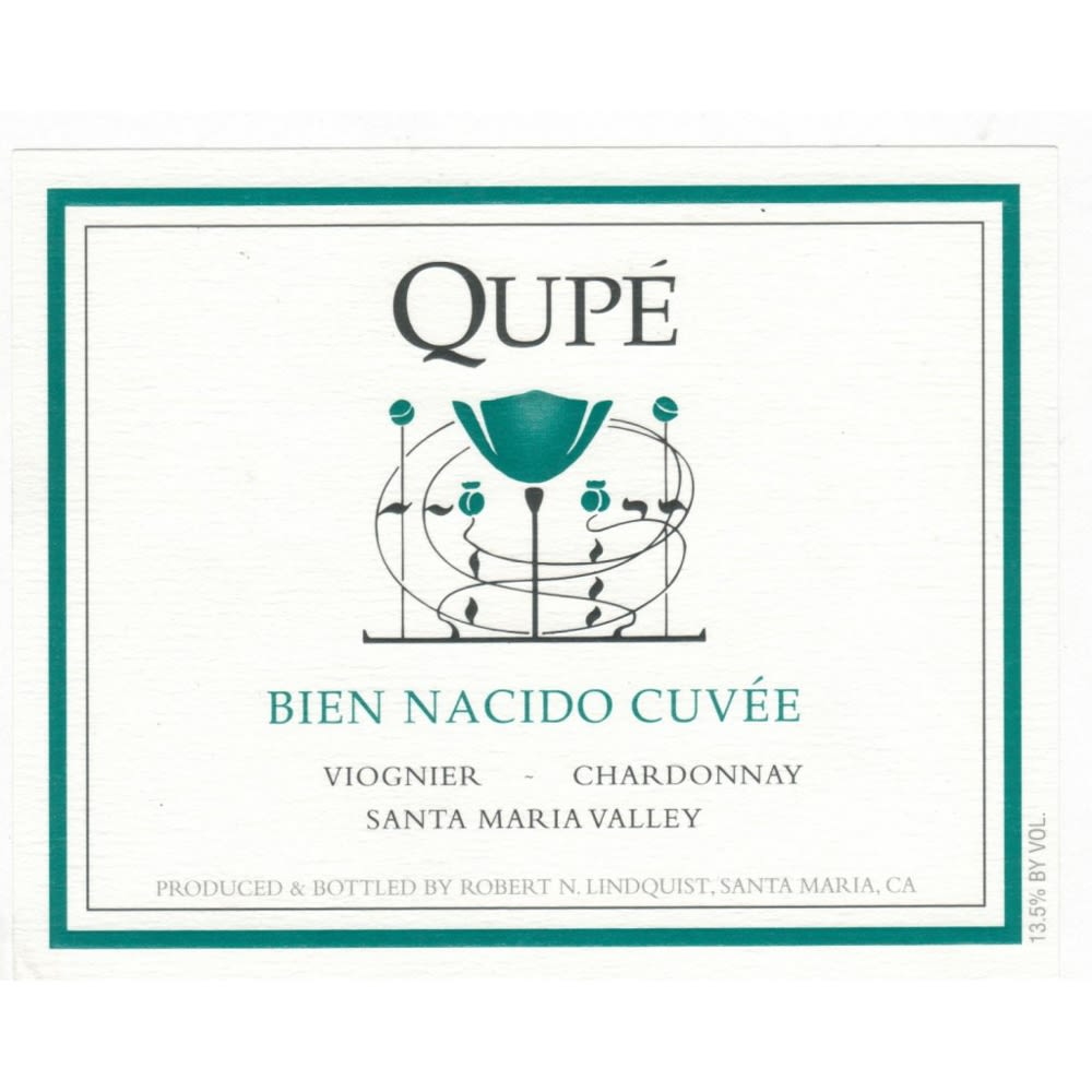 Qupe Bien Nacido Cuvee White 2012 Front Label